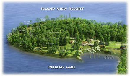 Island View Resort Map
