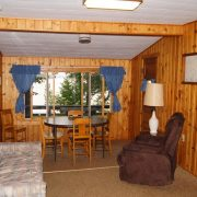 Basswood cabin interior