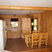 Black Spruce cabin interior
