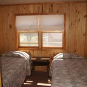 Maple cabin interior