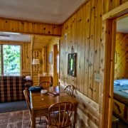 White Pine cabin interior