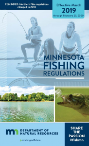 2019 MN Fishing Regulations